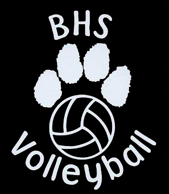 bothell high school volleyball decal