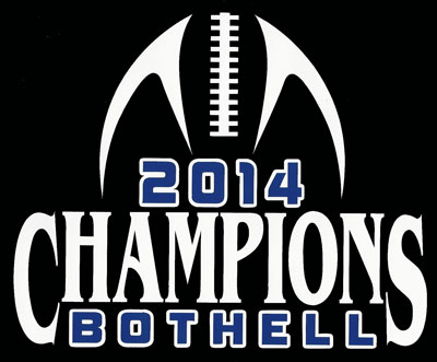 Bothell High School football state champions decal