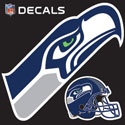 Seahawks decals helmet and Seahawks