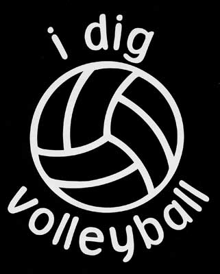 I Dig Volleyball