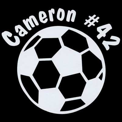 soccerball decal